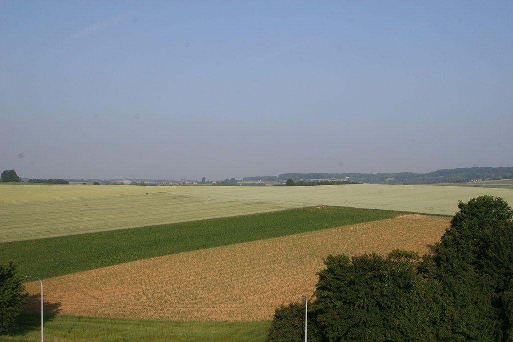 Die Plateaus von Brabant und dem Hennegau