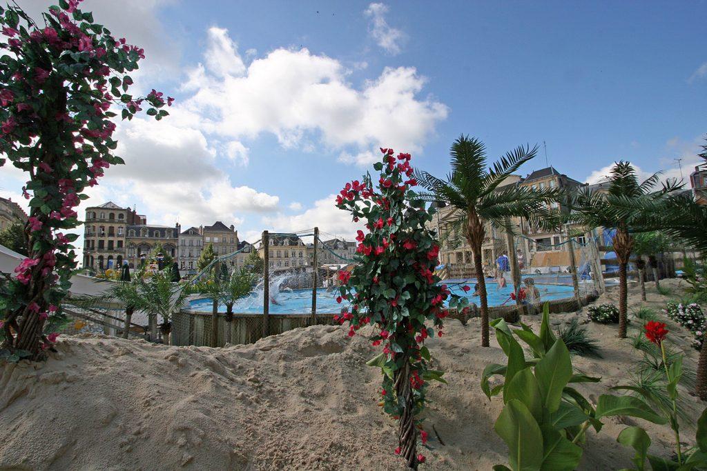 Die Palm Beach von Saint Quentin