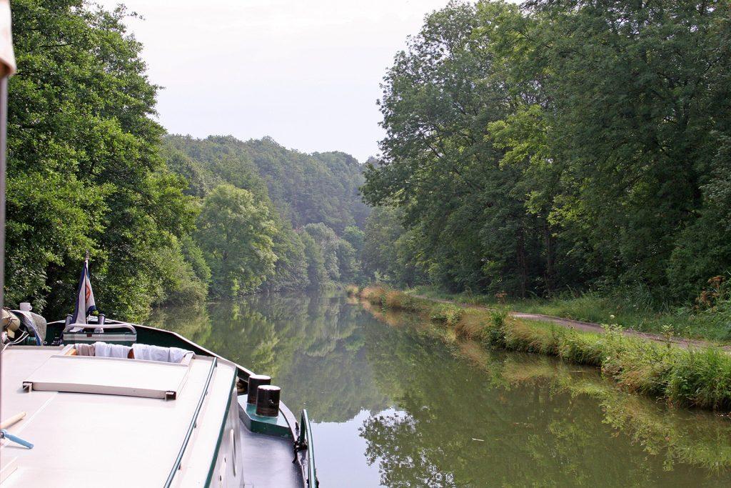 Der Canal de la Marne à la Saône – ein ideales Anfängerrevier