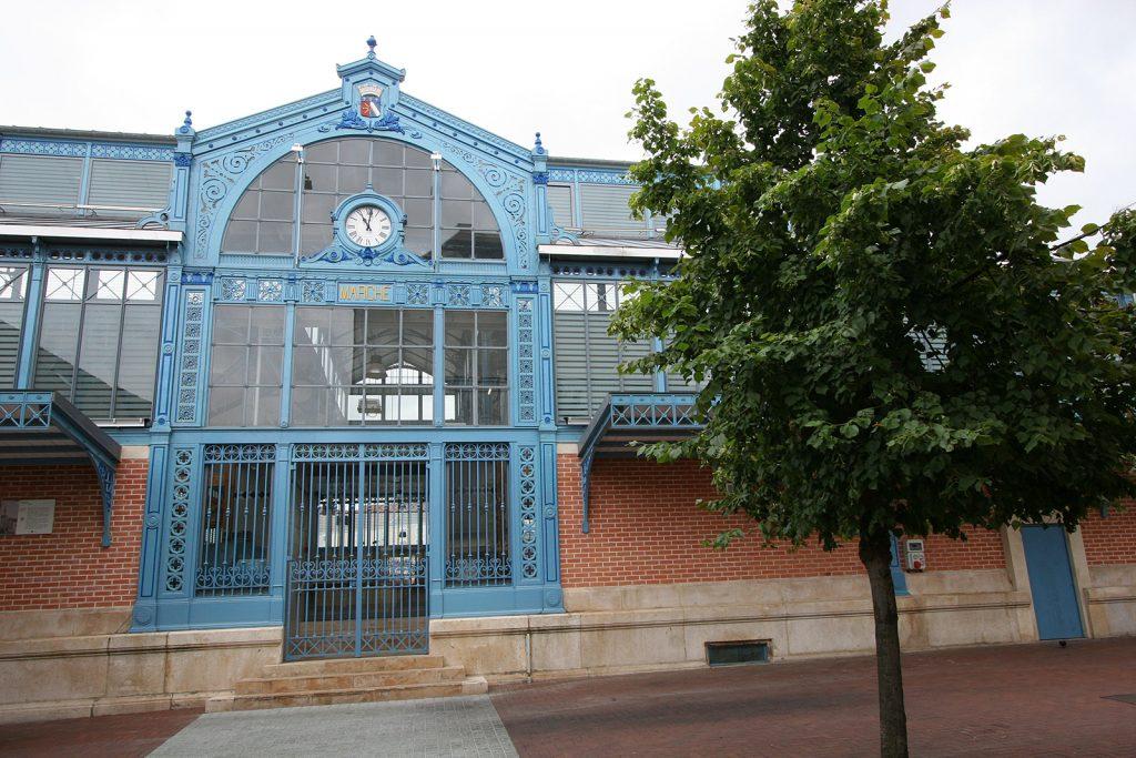Der gedeckte Markt von Chaumont