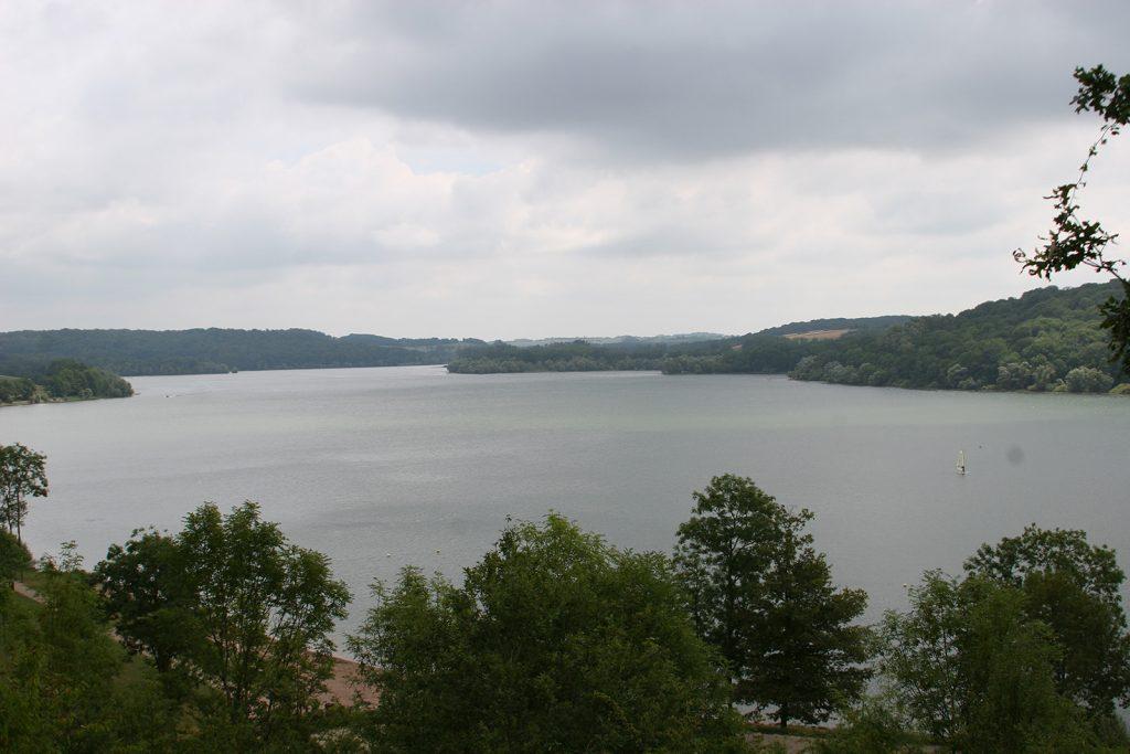 Der Lac de Liez, eines der Speicherbecken des Marne-Saône-Kanals