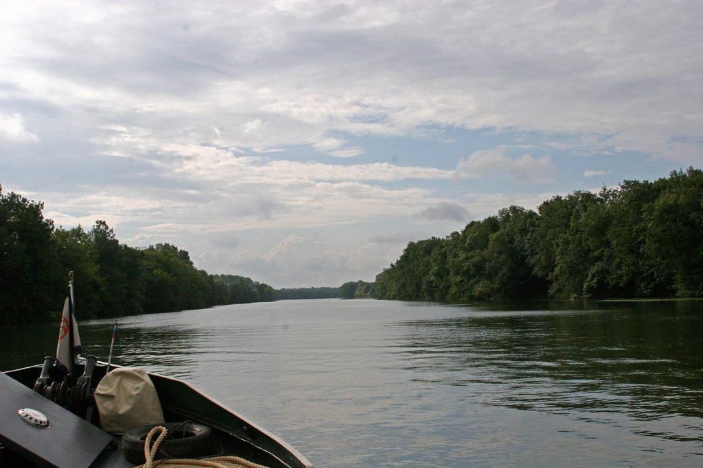Endlich wieder auf einem Fluss!