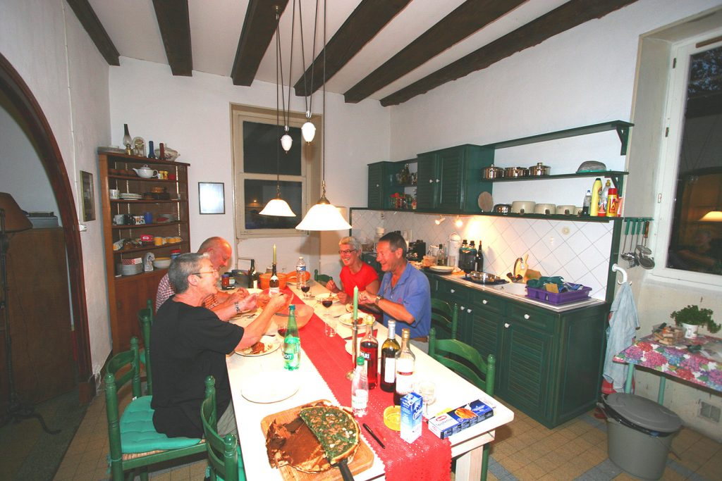 Nachtessen im Haus an der Schleuse