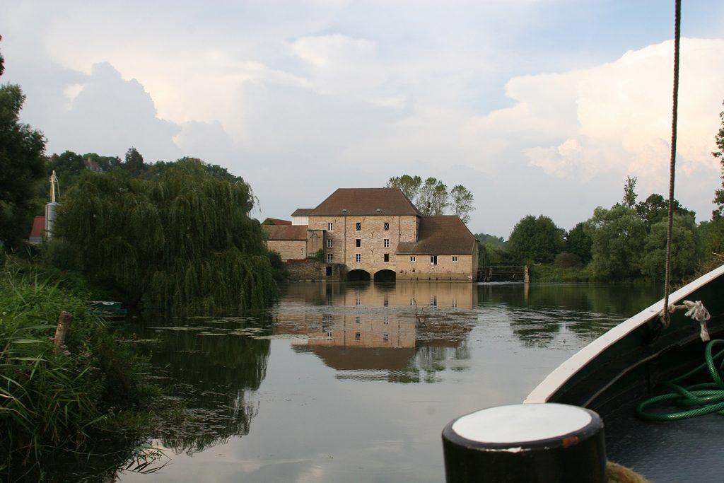 Die Mühle von Loisy an der Seille