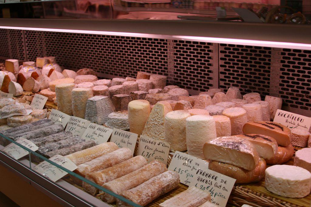 Im Käseparadies von Louhans