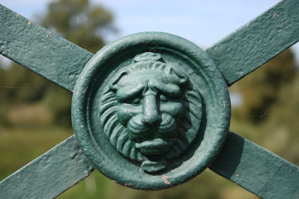 Detail an der Kanalbrücke von Digoin