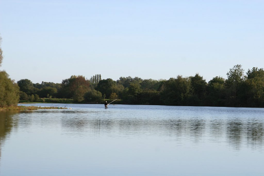 Die Loire bei Decize