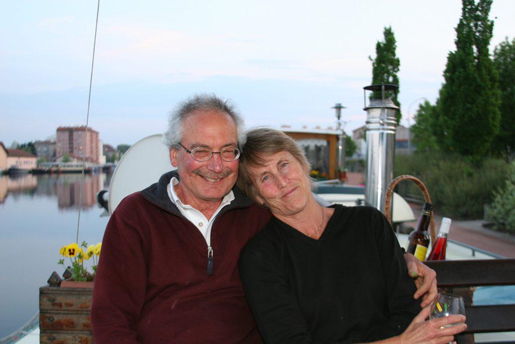 Unsere direkten Nachbarn: Barry und Karen von der M.S. Eleonore