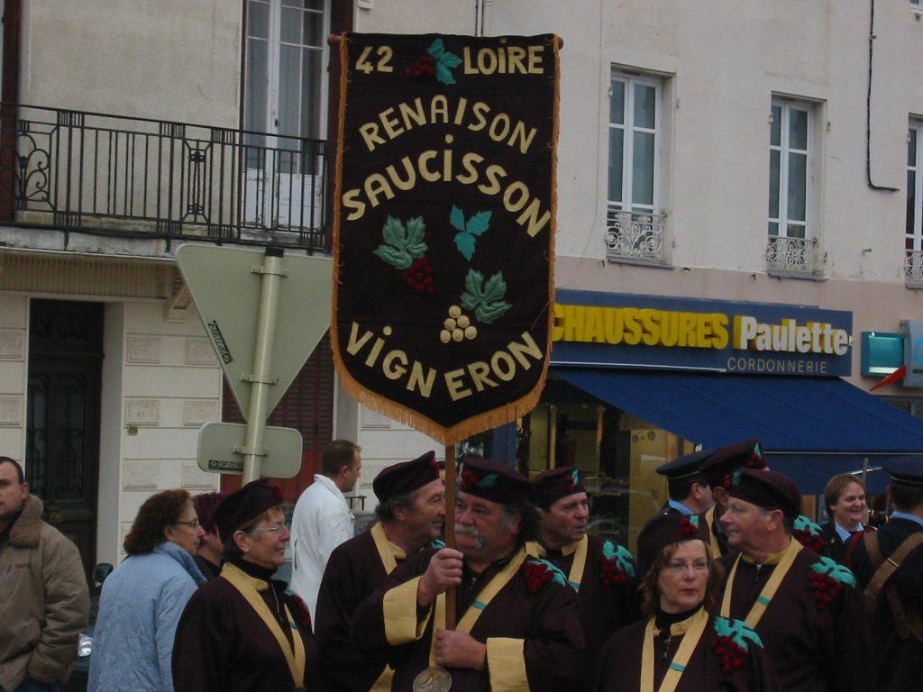 Winzerwurstfest in Renaison