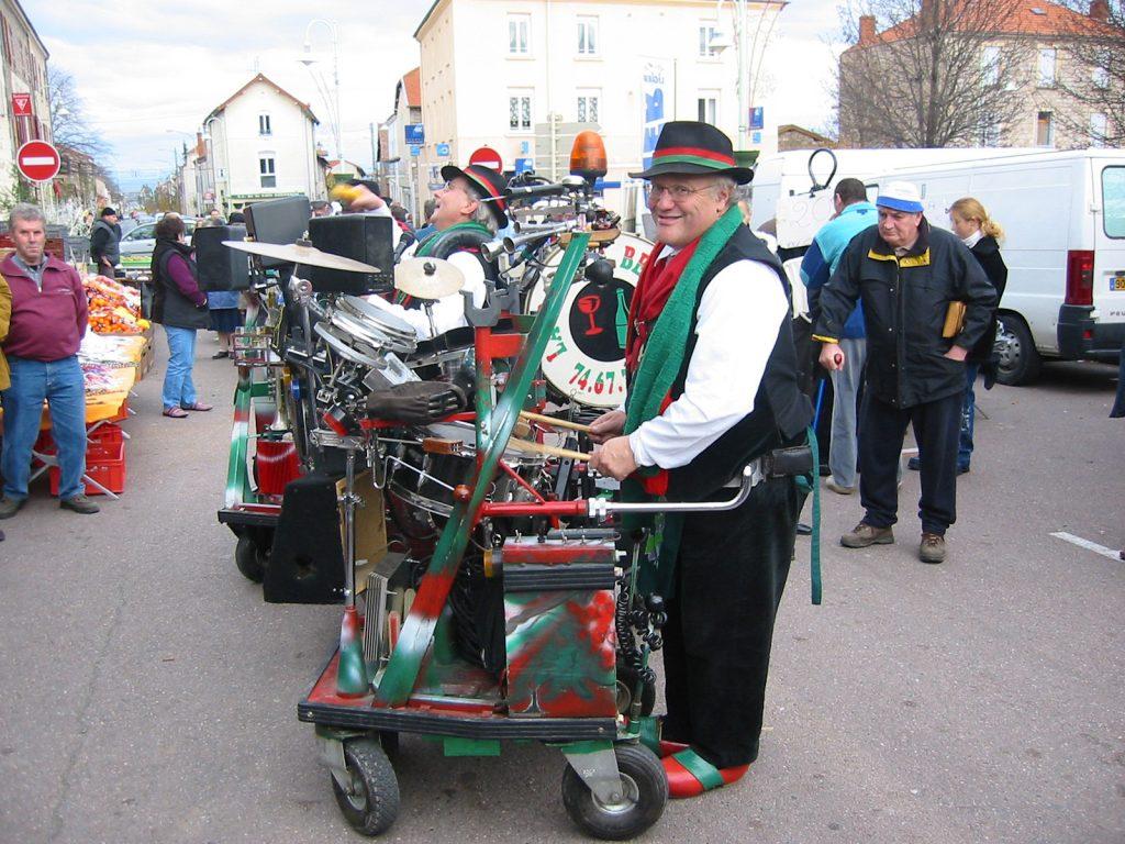 Strassenmusik am Winzerwurstfest