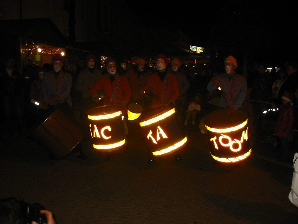 Fête de la lumière in Roanne