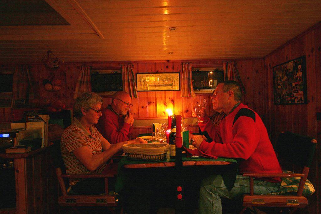 Weihnachten an Bord von M.S. Kinette