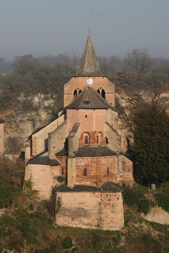Die Kirche Ste-Fauste in Bozouls