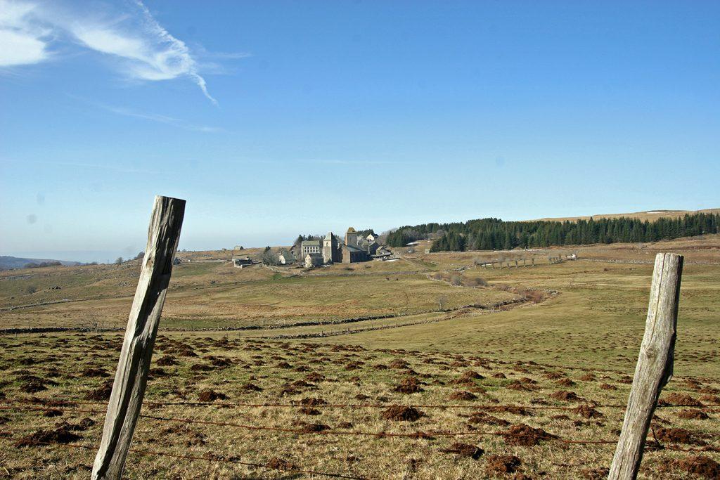 Die Pilgerunterkunft Aubrac am Pilgerweg nach Santiago de Compostela