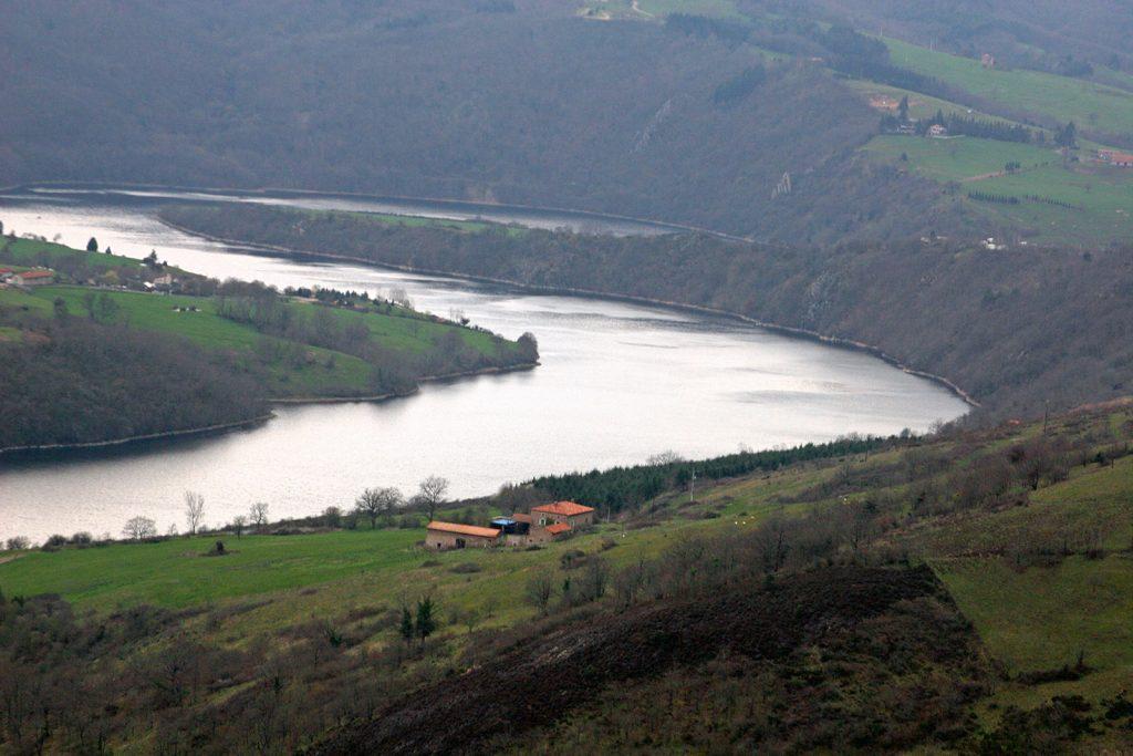Loirelandschaft bei Roanne