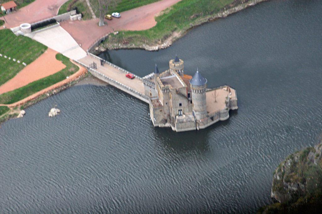 Schloss in der Loire