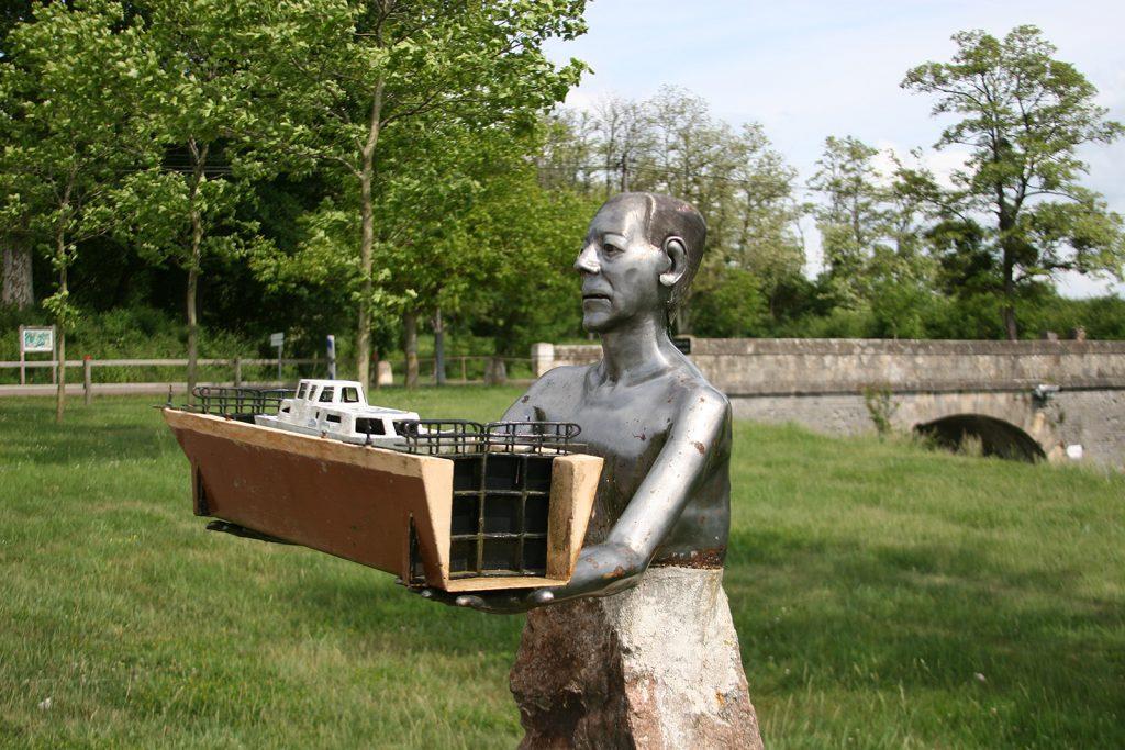 Pierre-Paul Zivy, Retter des Canal du Nivernais
