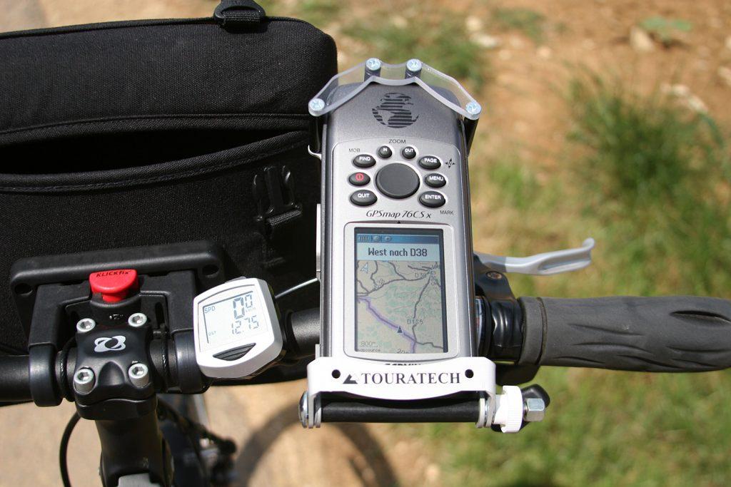 GPS am Velo