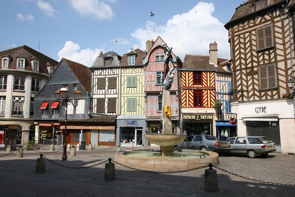 Die Altstadt von Auxerre steht unter Denkmalschutz