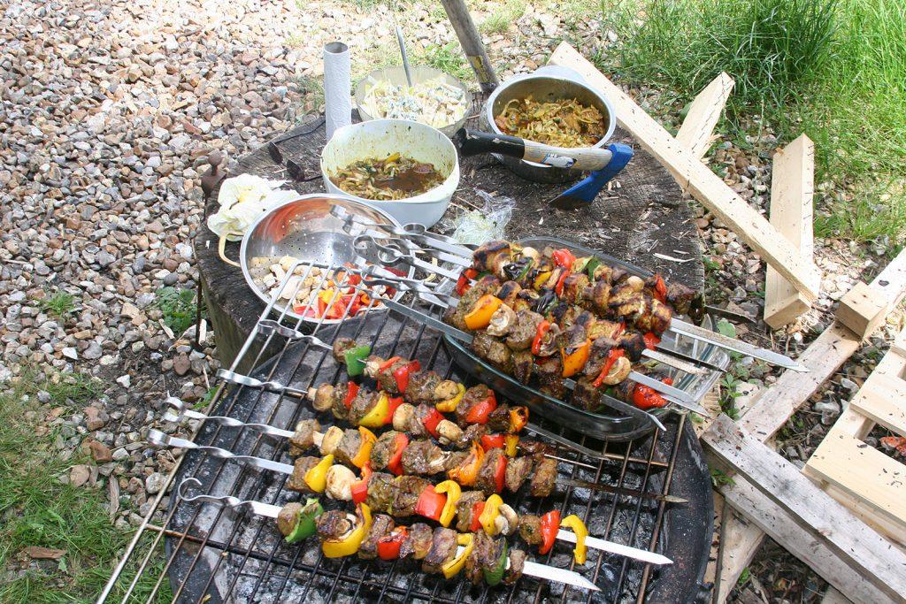 Ein bescheidenes Barbecue à la française