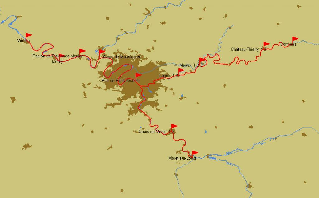 Route Vernon – Moret-sur-Loing