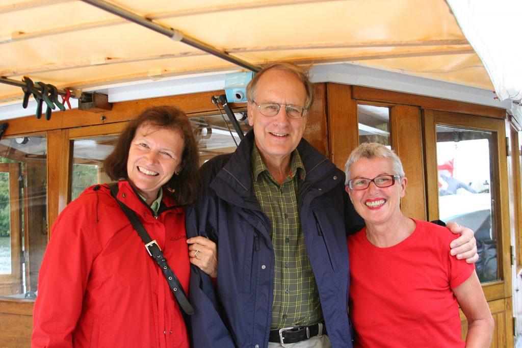 Doris Lauri, Hans Lauri und Charlotte