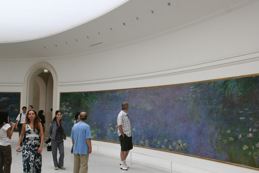 Im Musée de l'Orangerie