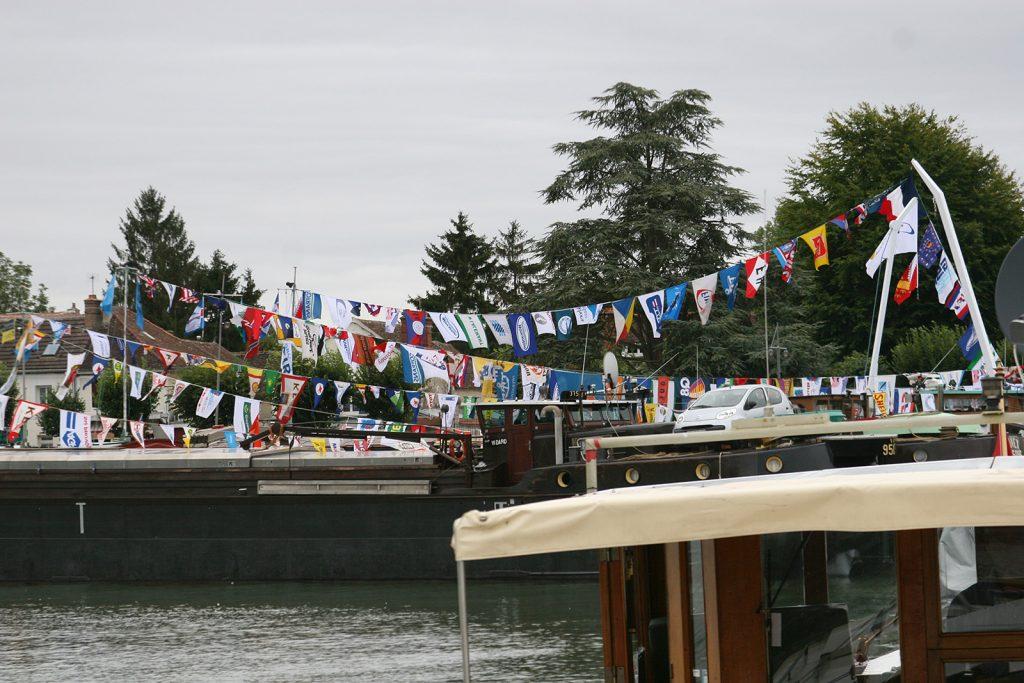 Schifferhochzeit in Saint-Mammès