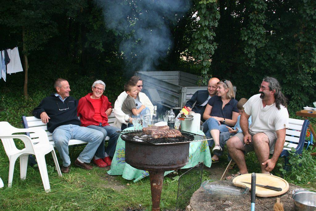 Wieder einmal ein Barbecue bei Christophe