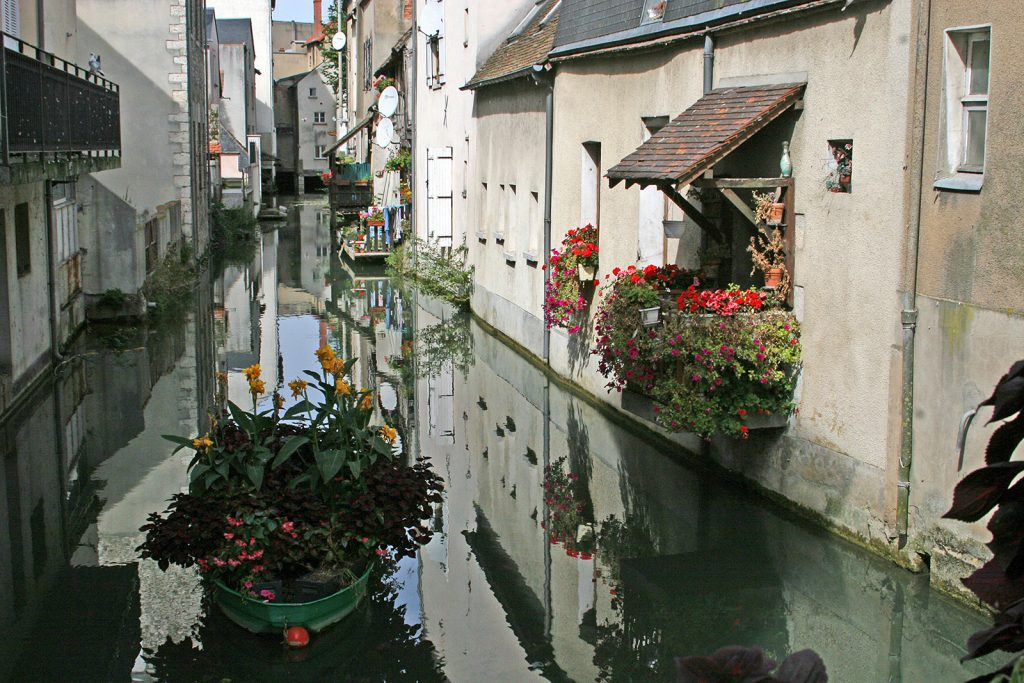 Klein-Venedig in Montargis