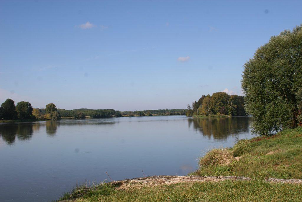 Die Loire bei Briare
