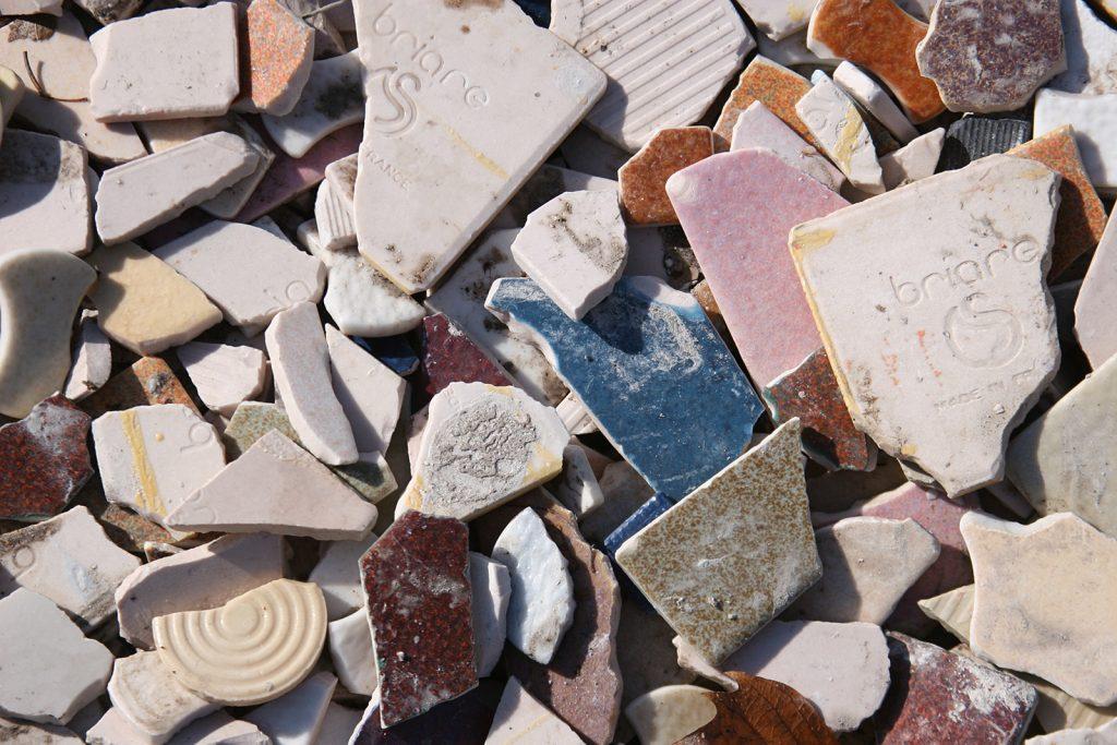 Rohstoff für Mosaikkünstler