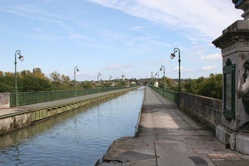 Die Kanalbrücke von Briare