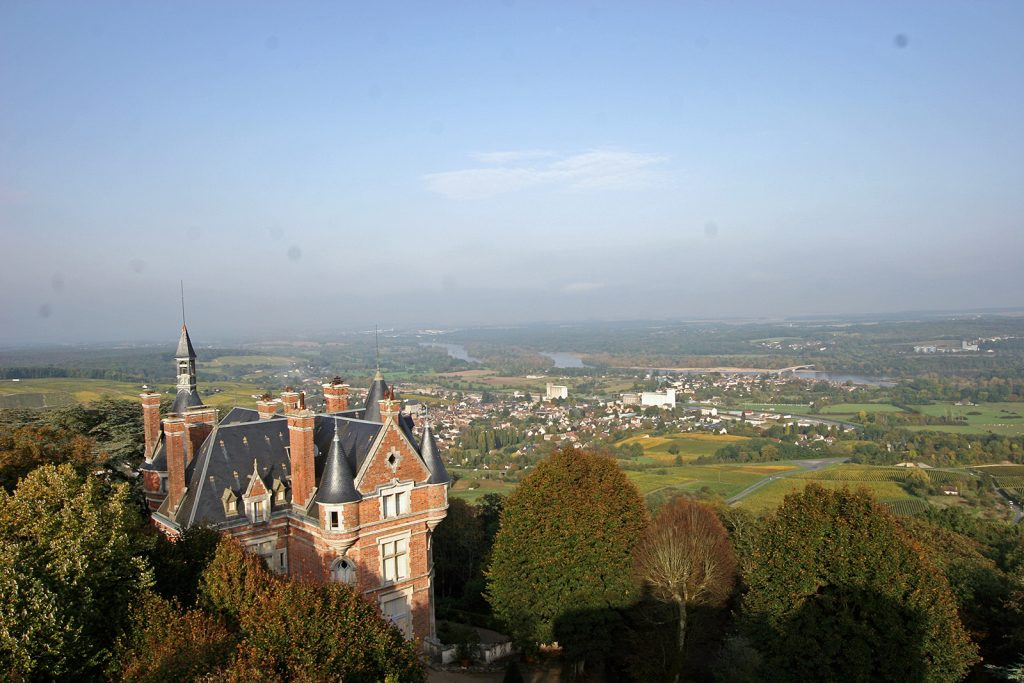 Blick von Sancerre auf das Loiretal