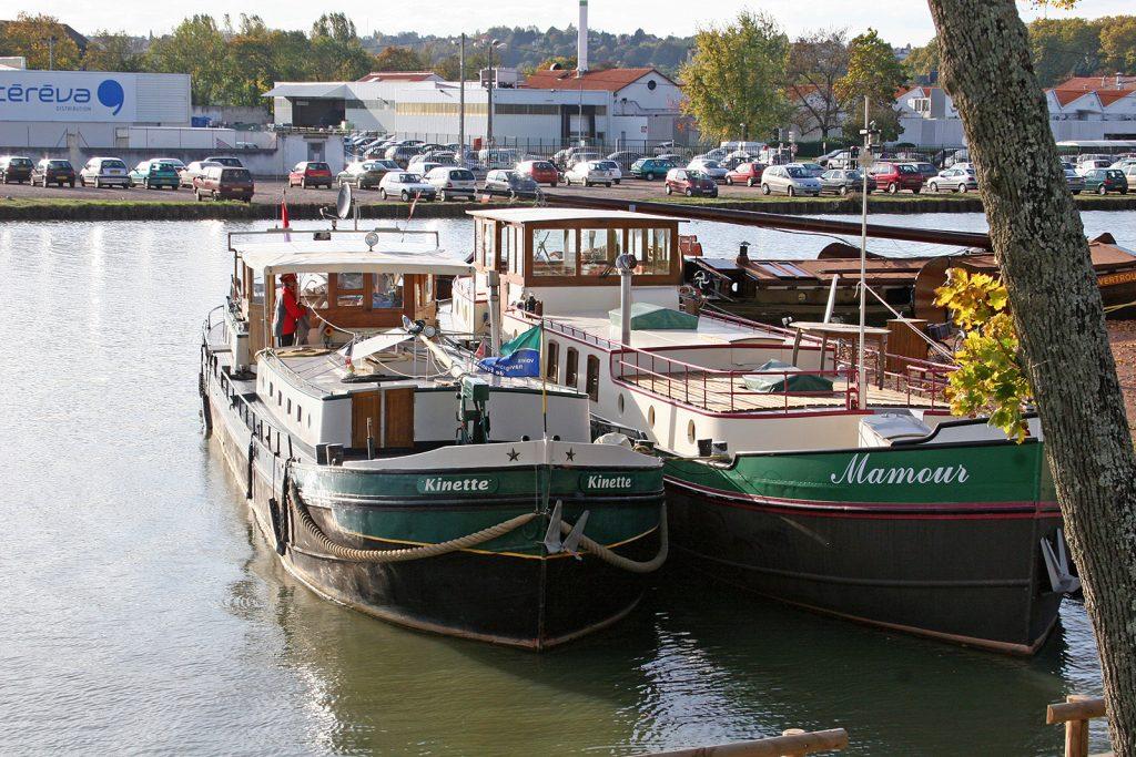 Im Hafen von Nevers