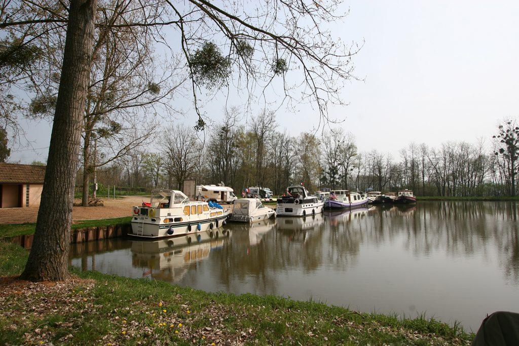 Das Bassin von Artaix vor dem Dammbruch...