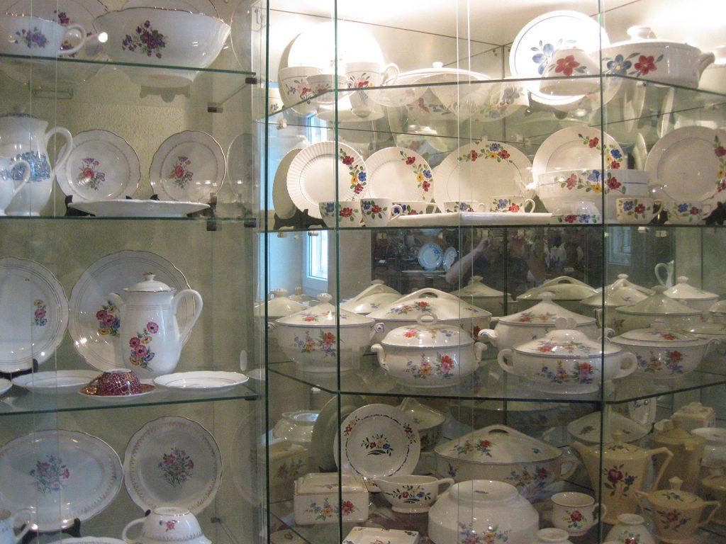 Im Musée de la céramique von Digoin