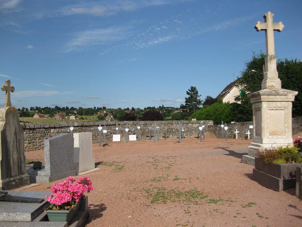 Die schmucklosen Gräber der «Blancs»