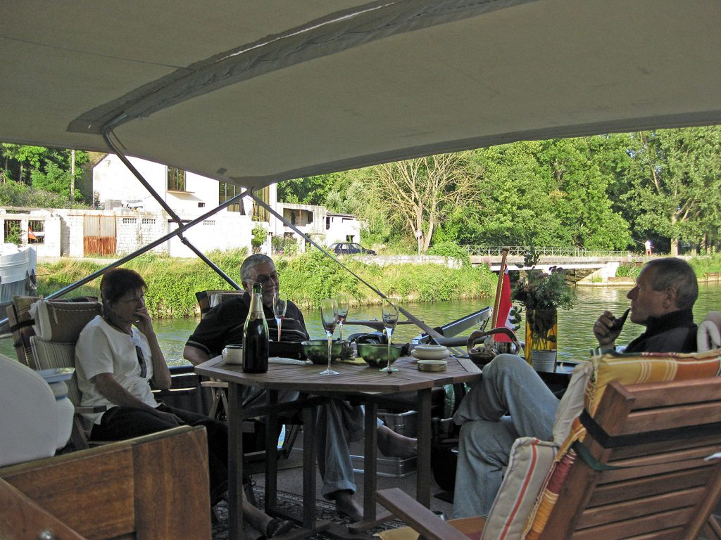 Bei Ruedi und Monika Schütz an der Bord der «Canard»