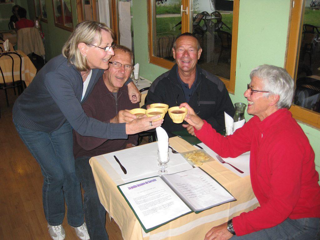 Beim «Kir breton» in Tanlay