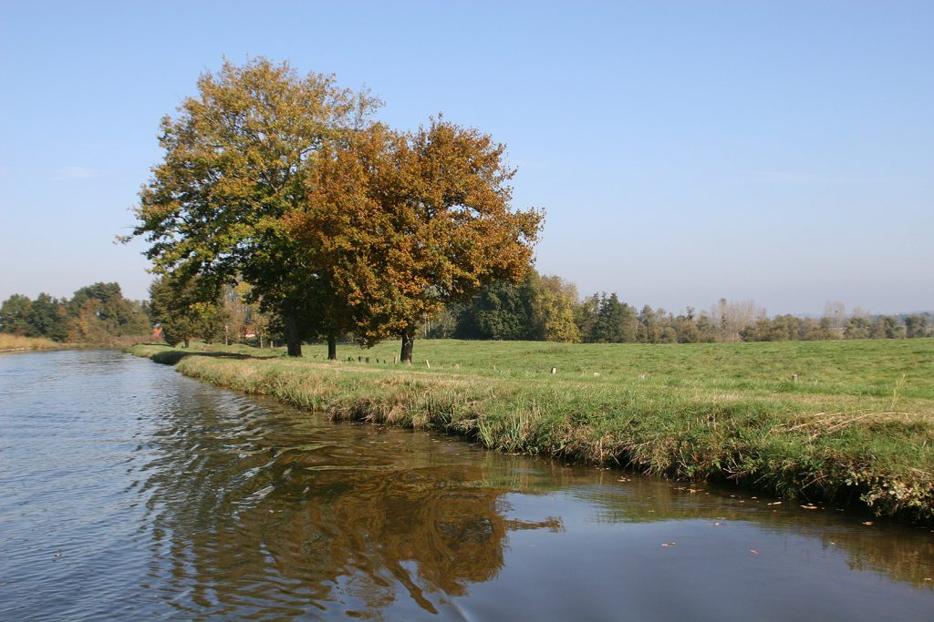 Canal de Roanne à Digoin bei Chassenard