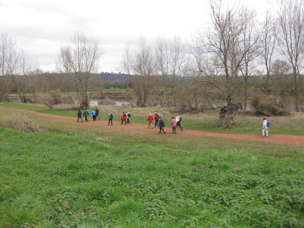 Wanderung entlang der Loire