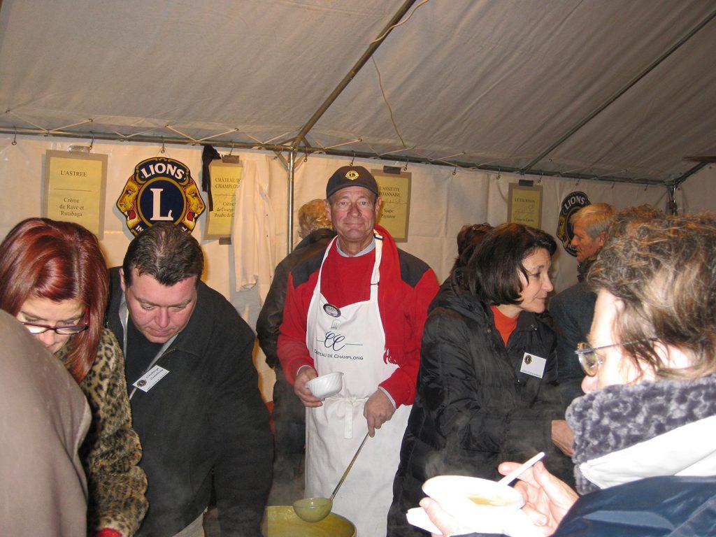 Die Suppenküche des Lions Club Roanne
