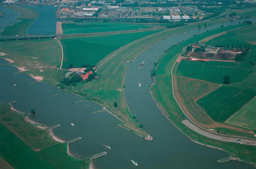 Die grossartige niederländische Wasserlandschaft (Foto Rijkswaterstaat)