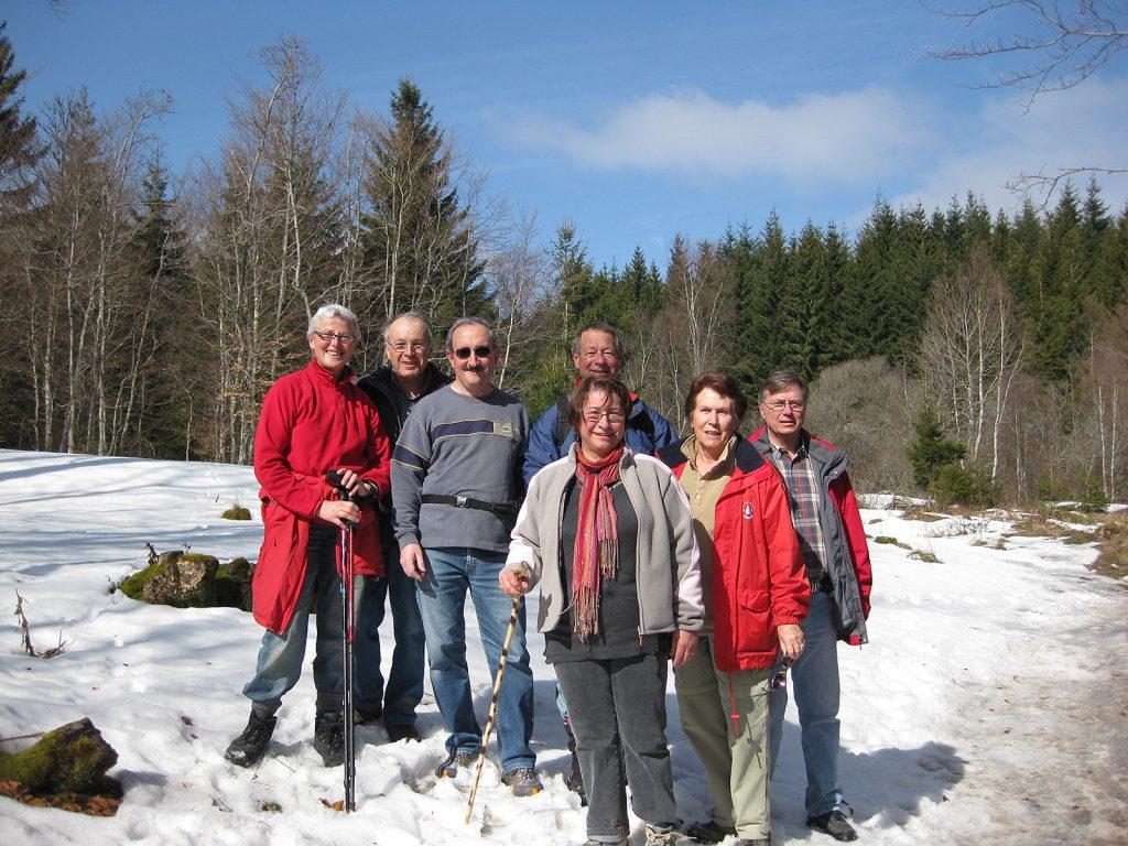 Frühlingswanderung im Schnee