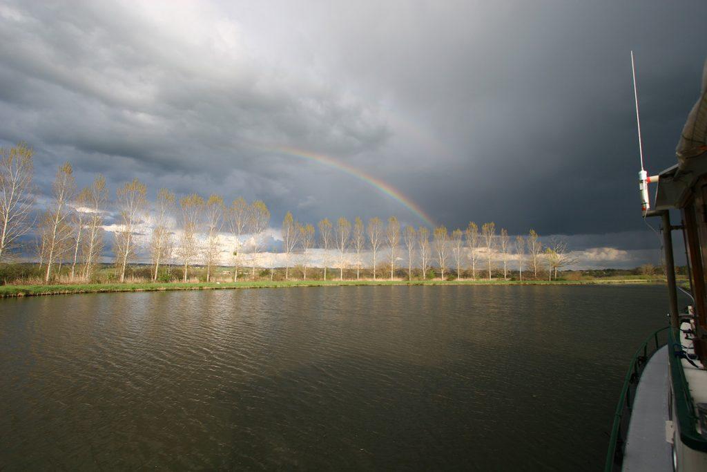 Gewitterstimmung in Melay-sur-Loire