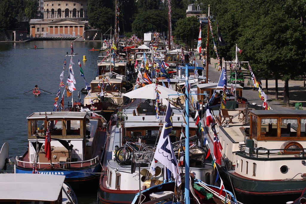 Treffen der DBA im Bassin de la Villette