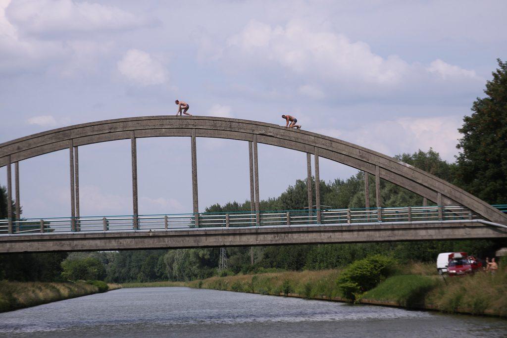 Sommerfreuden auf dem Canal latéral à l'Oise