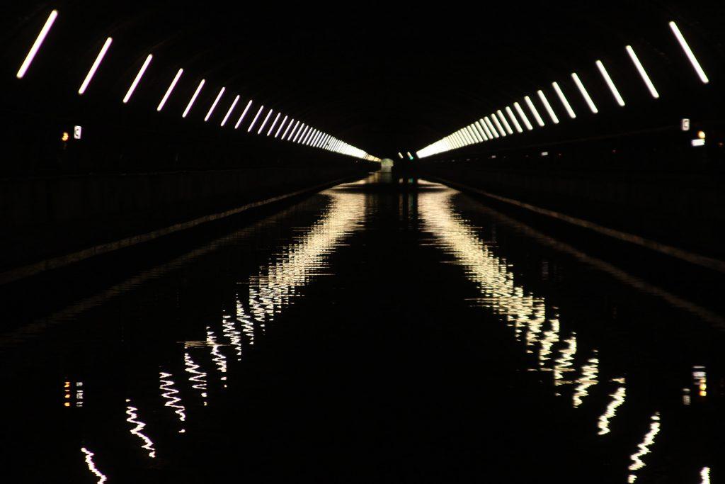 Im Tunnel von Ruyaulcourt