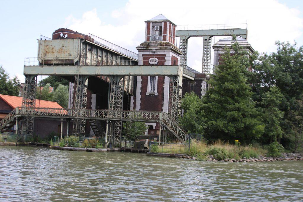 Der alte Schiffslift von les Fontinettes